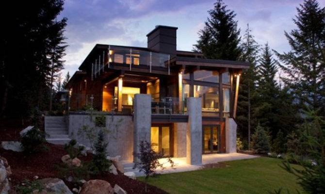 House Modern Country Design Progressive Concept