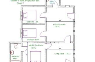 House Plan Bedrooms All Most