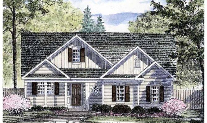 House Plan Bungalow Cottage Ranch