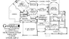 House Plan Floor Mountain Style Plans Country