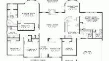 House Plan One Story Brick Bungalow Square Feet