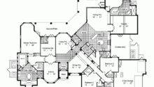 House Plan One Story Mediterranean Style Square Feet