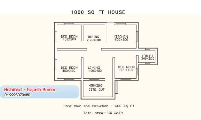 House Plan Single Floor