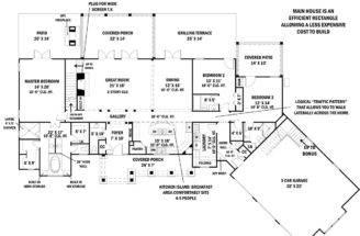 House Plan Tres Fleur