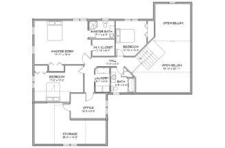 House Plan Two Story Traditional Country Cape Cod
