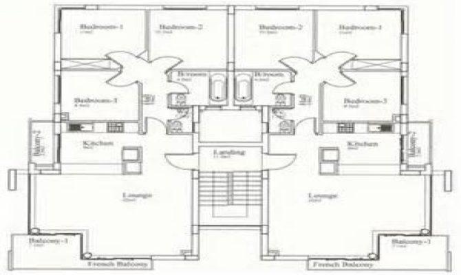 House Plans Bedrooms Bedroom Bungalow