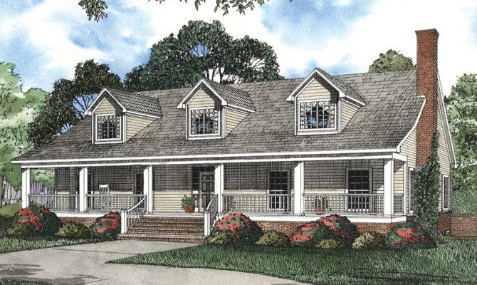 House Plans Cape Cod New England Luxury
