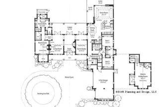 House Plans Courtyard Furthermore Home