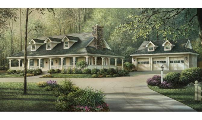 House Plans Farmhouse Country Southern