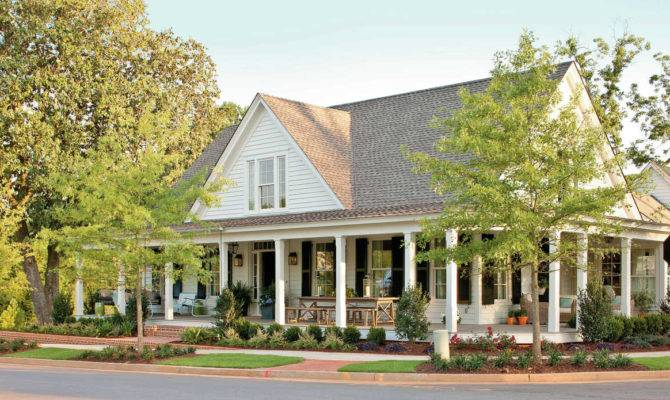House Plans Porches Southern Living