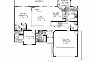 House Plans Small Home Awesome Two Bedroom Design