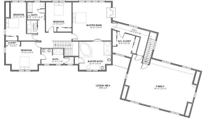 House Plans Three Bedrooms Large Luxury Character