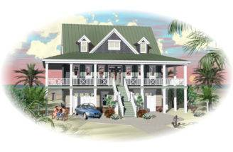 House Plans Traditional Waterfront