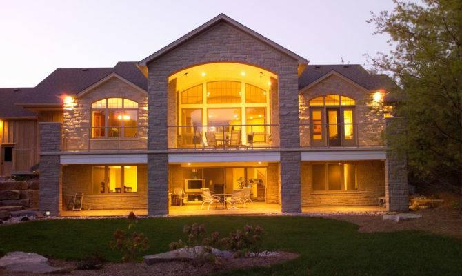 House Plans Walkout Basement Daylight Foundations Pin