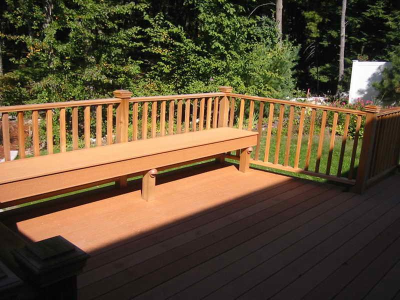 Ideas Best Deck Bench Plans Landscaping