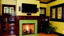 Ideas Fireplace Tile Wooden Floor