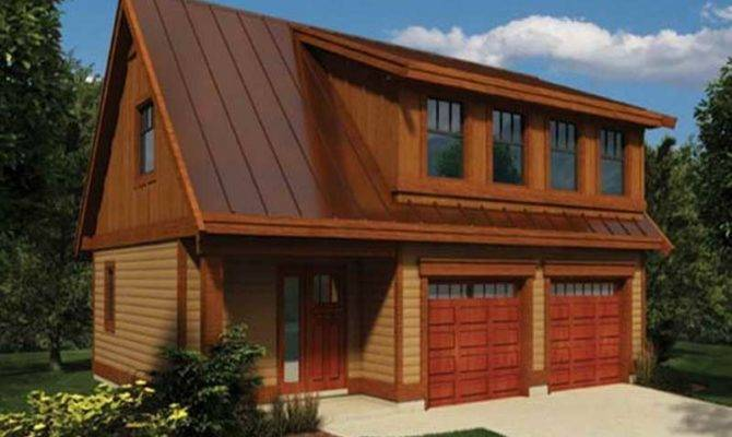 Ideas Garage Loft Plans Wood Material