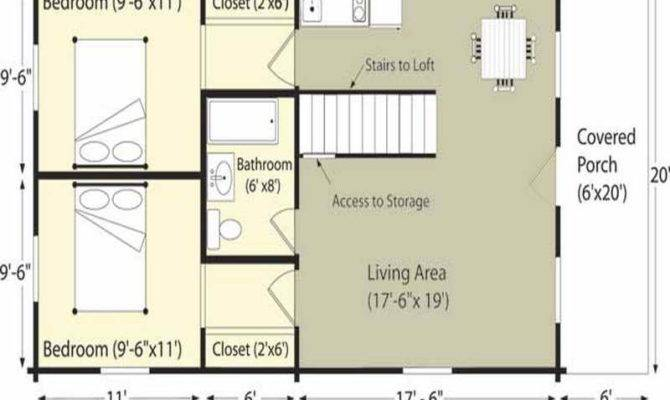 Ideas Log Cabin Floor Plans Project