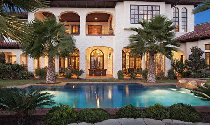 Ideas Mediterranean House Plans Pools Spanish Style Home
