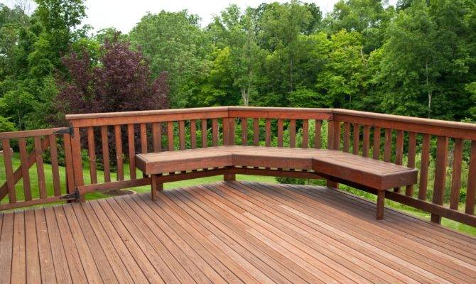 Ideas Our House Wonderful Wooden Backyard Decking