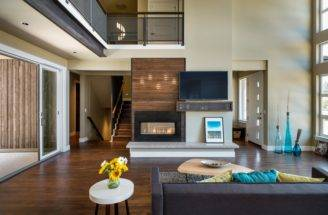 Interior Design Concept Luxurious Multi Level House Elevator