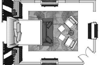 Interior Design Furniture Space Plan