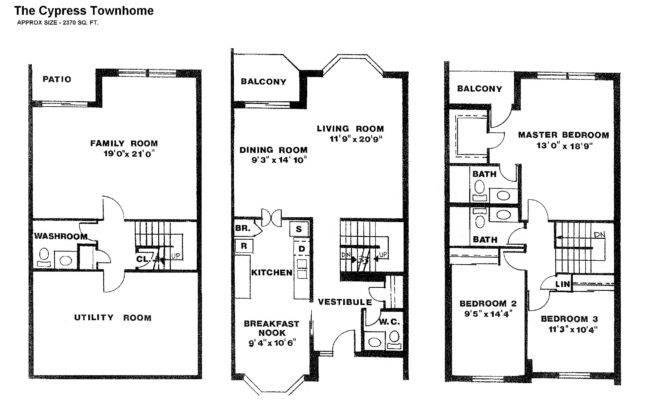 Irvington Apartments Melbourne Townhouses Floor Plans
