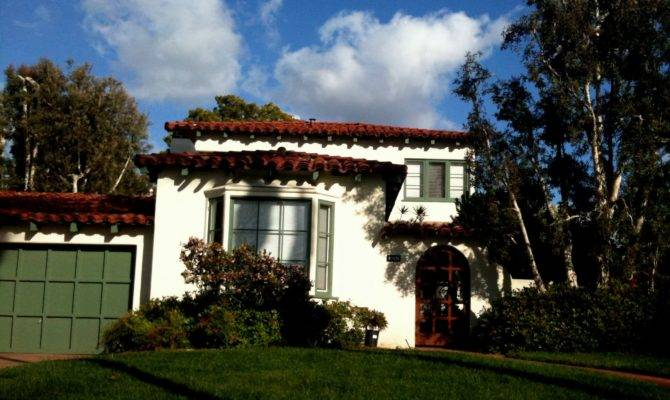 Isn Charming Spanish Colonial Homes Area Were