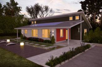 Jetson Green First Zero Home Under Construction Deltec