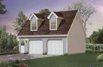 Justine Creek Studio Garage Plan House Plans More