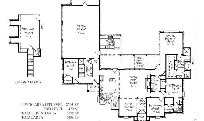 Kabel Country French Home Plans Louisiana House