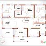 Kerala Bedroom House Plans Architecture Bhk Single Floor