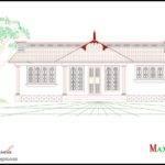 Kerala Bhk Single Floor House Plan Elevation