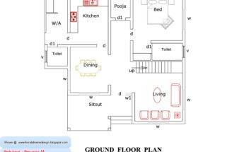Kerala Home Plan Elevation Design