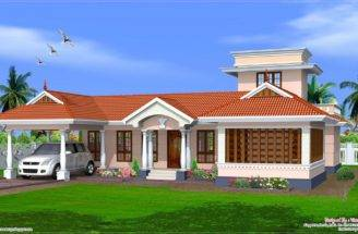Kerala Style Single Floor House Design Home