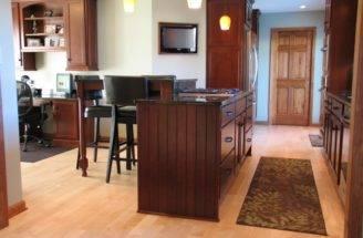 Kitchen Designs Cheerful Interior Design Open Floor Plans