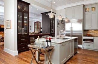 Kitchen Designs Luxury White Open Floor Plans Wooden