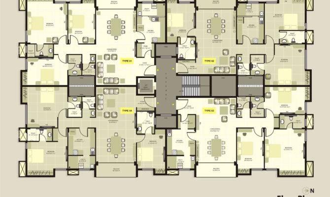 Krc Dakshin Chitra Luxury Apartments Floorplan