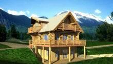 Lake House Plans Log Cabin Mountain Home Rustic