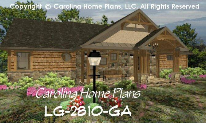 Large Craftsman House Plan Chp Home