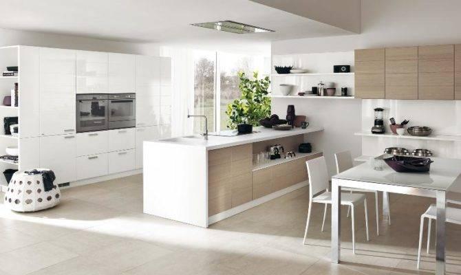 Large Open Kitchen Layout Interior Design Ideas