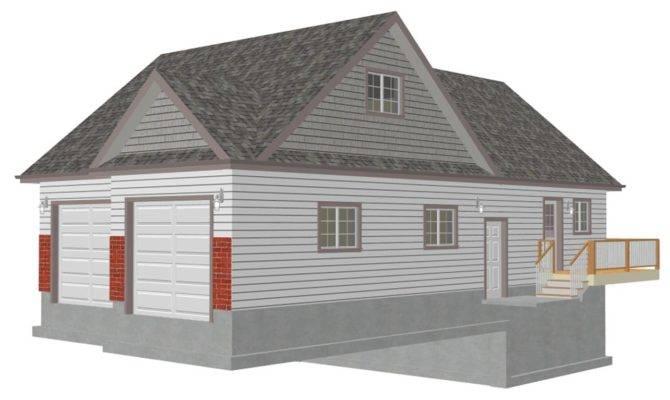 Law Apartment Garage Plans Loft