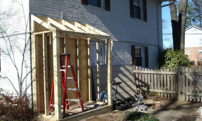 Lean Shed Attached House Diy Pdf Plans Roof