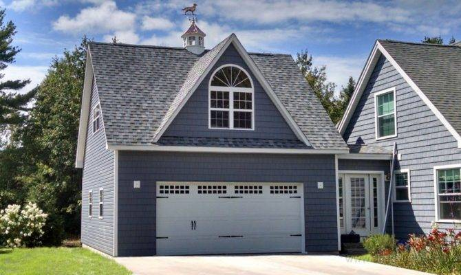 Legacy Two Story Car Garages