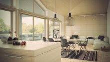 Living Dining Room Design Concept Modern