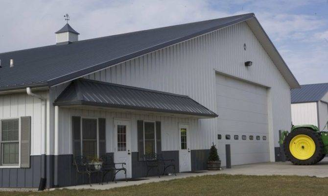 Living Quarters Floor Plans Additionally Garage Shop