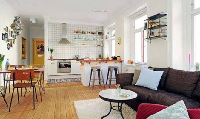 Living Room Design Open Kitchen Interior Designs
