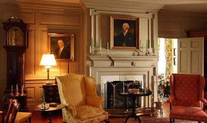 Living Room Historic Home