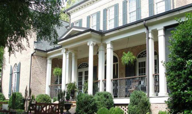Living Small House Plans Porch Southern