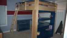 Loft Bed Plans Twin Diy Blueprints